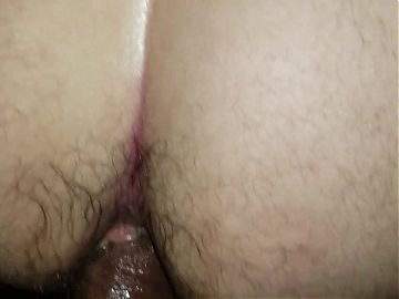 Short clip of bbc breeding my hole