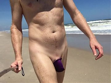 c-string at the beach